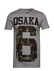 OSAKA TEE - GREY GRIT