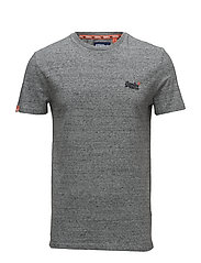 ORANGE LABEL VNTGE EMB S/S TEE - FLINT STEEL GRIT