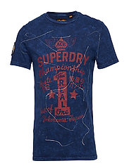 MOTOR CITY TEE - ARTISAN DEEP WATER NAVY