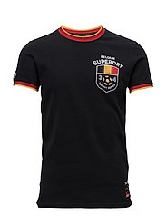BELGIUM TROPHY SERIES TEE - BLACK