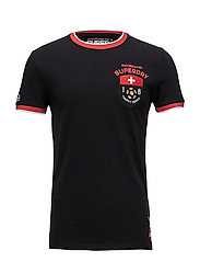 SWITZERLAND TROPHY SERIES TEE - BLACK