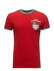 PORTUGAL TROPHY SERIES TEE - HIGH RISK RED
