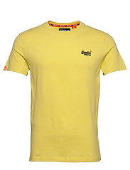 Ol Vintage Embroidery Tee - BRIGHT YELLOW GRIT