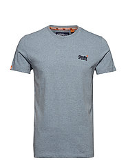 ORANGE LABEL VINTAGE EMBROIDERY S/S TEE - PACIFIC BLUE GRIT