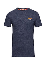 ORANGE LABEL VINTAGE EMBROIDERY S/S TEE - CLASSIC BLUE FEEDER