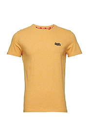 ORANGE LABEL VINTAGE EMBROIDERY S/S TEE - SUNSHINE YELLOW GRIT