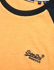 Superdry - OL BASEBALL SS TEE - basic t-shirts - ochre marl - 2