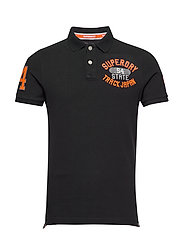CLASSIC SUPERSTATE S/S POLO - BLACK