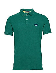 CLASSIC S/S PIQUE POLO - SHAMROCK GREEN GRIT