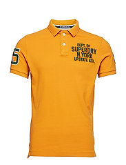 CLASSIC S/S SUPERSTATE POLO - ALL NET YELLOW