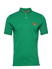 MERCERISED LITE CITY POLO - IVY