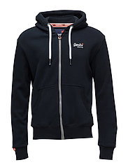 ORANGE LABEL ZIPHOOD - ECLIPSE NAVY
