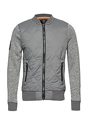 STORM MOUNTAIN BOMBER - GREY GRIT