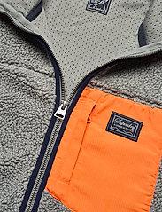 Superdry - SHERPA ZIP THRU HOOD - basic-sweatshirts - slate iron - 2