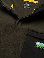 Superdry - B TRAIL POLAR FLEECE POP OVER - basic-sweatshirts - surplus goods olive - 2
