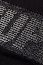 Superdry - JAPAN CITY BREAKERS CREW - svetarit - black/black grit - 3