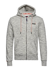 ORANGE LABEL CLASSIC ZIP HOOD - ASH GREY HEATHER