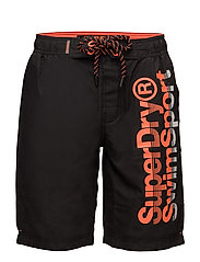 SUPERDRY BOARDSHORT - BLACK