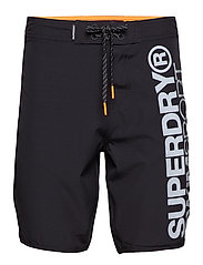 DEEP WATER BOARD SHORT - BLACK