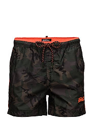 BEACH VOLLEY SWIM SHORT - OLIVE CAMO