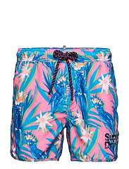 ECHO RACER SWIM SHORT - MULTI COCKATOO AOP