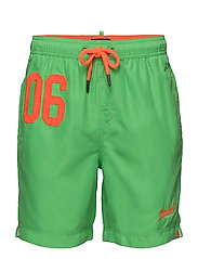 WATERPOLO SWIM SHORT - DECK BRIGHT GREEN