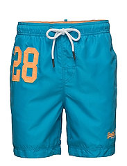 WATERPOLO SWIM SHORT - OCEAN BLUE