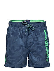 POOL SIDE SWIM SHORT - MARINER CAMO JACQUARD