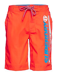 SUPERDRY BOARDSHORT - HAVANA ORANGE