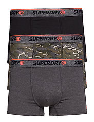 O.L SPORT TRUNK TRIPLE PACK - STEALTH CAMO/BLACK/CARBON BLACK GRIT