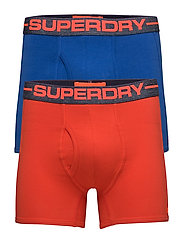 SPORT BOXER DOUBLE PACK - ELECTRIC BLUE/SUNSET ORANGE