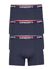 CLASSIC BOXER TRIPLE PACK - NAVY MULTIPACK