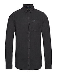 ACADEMY OXFORD SHIRT - ONYX MARL