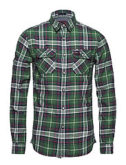 LUMBERJACK LITE SHIRT - MICHIGAN GREEN CHECK