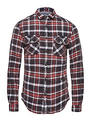 MERCHANT MILLED SHIRT - OPS BLACK CHECK