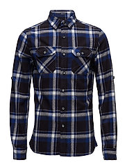 LUMBERJACK L/S SHIRT - BELLINGAM BLUE CHECK