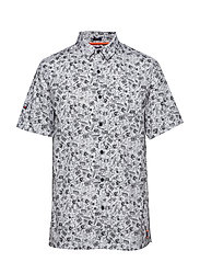 SEATTLE SKATE S/S SHIRT - SUPERDRY DOODLE OPTIC