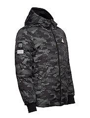 Superdry - CONVERTER PUFFER - padded jackets - black - 6