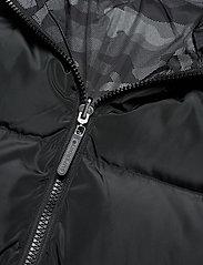 Superdry - CONVERTER PUFFER - padded jackets - black - 7