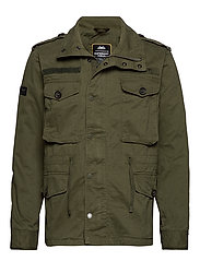 ROOKIE FIELD JACKET - IVY GREEN