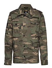ROOKIE FIELD JACKET - SAND CAMO