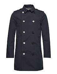 SUPERDRY PREMIUM ROGUE TRENCH - TEAL