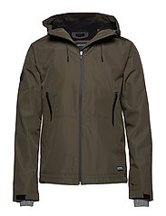 HOODED ELITE WINDCHEATER - ALPINE KHAKI