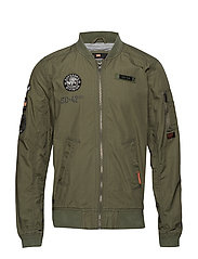 ROOKIE AVIATOR PATCHED BOMBER - WASHED SAGE