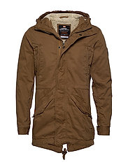 NEW MILITARY PARKA - RUSTY GOLD