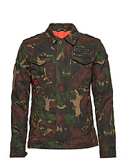 ROOKIE PATCHED DECK JACKET - GHOST CAMO
