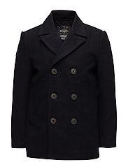 ROOKIE MERCHANT LINE PEACOAT - SUPER DARK NAVY