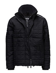 QUILTED ATHLETIC WINDCHEATER - ECLIPSE NAVY/BLACK