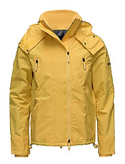 HOODED POLAR WIND ATTACKER NB - FLASH YELLOW/GAME GREY