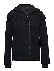 MICROFIBRE HOODED WINDATTACKER - SUPER DARK NAVY